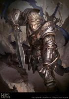 Virtuous Knight Galahad Reg by justice8701
