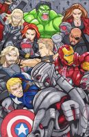 Age of Ultron by KidZ3r0