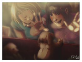 Faberry Little Puppy by patronustrip