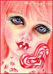 Peppermint Candy by Katerina-Art