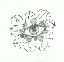 Flora Eye by xRosso