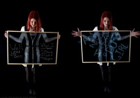 Sexism and Chalk: Part One by LightrayPhotography