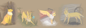 contest entry - jolteon types by spoozer