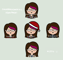 ChloeRockChick14's icon pack by LetsSaveTheUniverse
