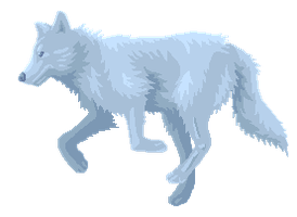 Winter Wolf by LupisDarkmoon