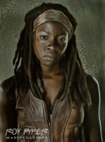 The Walking Dead: Michonne: Anisotropic Re-Edit by nerdboy69