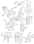 Fakemon46 by Kurigaru