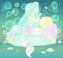 Magical Mermaid by WhippedCreamCake
