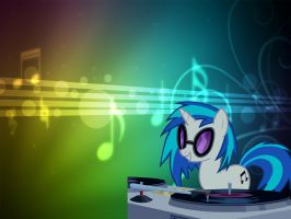 DJ PON-3 by AngelCARMINE