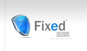 Fixed-Solutions 3rd logo by desdoc