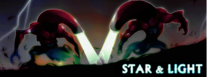 Star and light Banner 01 by K-hermann