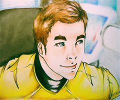 ST - James T. Kirk by CurlyLada