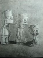 simpsons by Iwannaworkatpixar