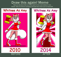 DTA! Meme - Whitnee As Amy by CaseyDecker