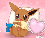 sweet eevee by jirachicute28