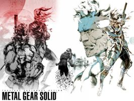 Metal Gear Solid Tribute 2nd by luncatic