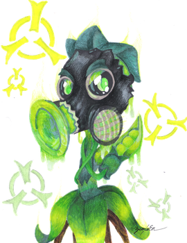 Toxic Pea by BioXeEn