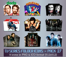 TV Series - Icon Pack 27 by apollojr