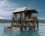 House on water by juliteo