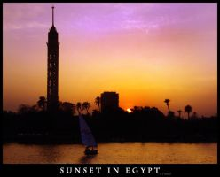 Egyptian Sunset by BooTuM