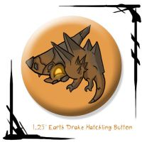 Earth Drake Hatchling by BunnyBennett