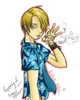 Sanji from One Piece by shinfua