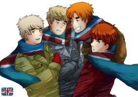 APH: the uk BROS by HoneyHamster