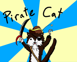 Pirate Cat by lockheart9