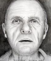 Sir Anthony Hopkins by Doctor-Pencil
