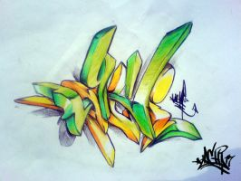 3d sketching by LACHI17