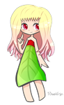 Strawberry Girl Adopt .:OPEN:. by 1bookfish
