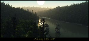 Navigate to the west by PeterN64