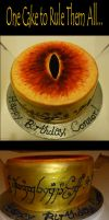 One Cake To Rule Them All... by Stephanie-Chivas
