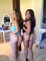 Remy lacroix and Mischa brooks by HydraWarrior345