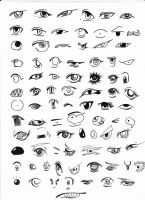 +85 anime eyes+ by Diece93