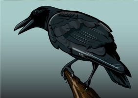 Vectorized Crow by New-Silicate