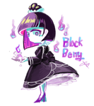 Cookie run- blackberry flavor cookie by dddrop