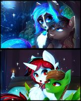 Night for two [finished. 2\2 fragments.] by Koveliana