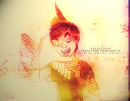 Peter Pan by Lizzie-Doodle