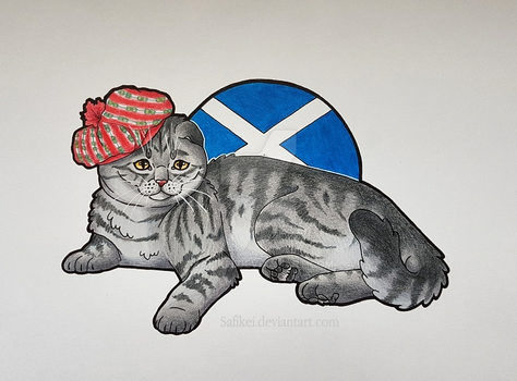 Scotland - Scottish Fold by Safikei