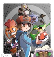 Pokemon Black by Sir-Doomy
