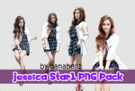 Jessica Star1 PNG Pack by HanaBell1