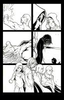 The Blood of War (Web Comic) p3 by DrawlinesMisfits