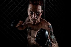 Cage Fighter by RichardWood
