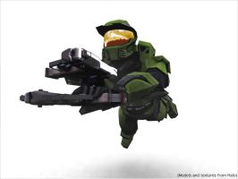 Max Payne..err..Master Chief by todd587