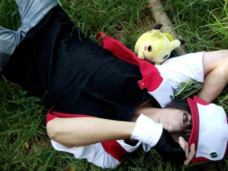 Pokemon Red Cosplay by Zettai-Cosplay