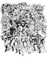 Legion of Super Heroes, 1983 by dalgoda7
