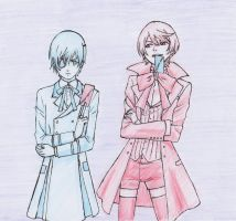 Alois and Ciel by Jessicutie