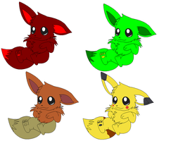 Eevee Adoptables by Animal-Adopts