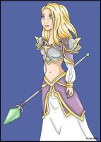 Jaina Proudmoore by ArisuMizuki